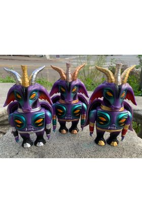 Baphomaniac Purple Handpaint - Martin Ontiveros