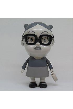 Little Enid Doll Black & White - Press Pop