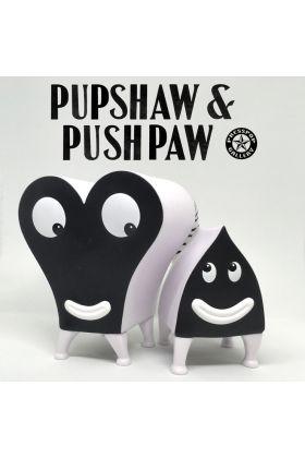 Pupshaw and Pushpaw Black & White Edition - Jim Woodring x Press Pop