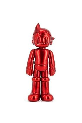 ASTRO BOY PVC CLOSED EYE METALLIC RED  - Toy Qube