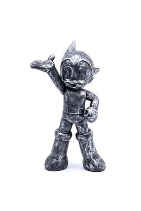 ASTRO BOY PVC ICONIC BRUSHED SILVER - Toy Qube