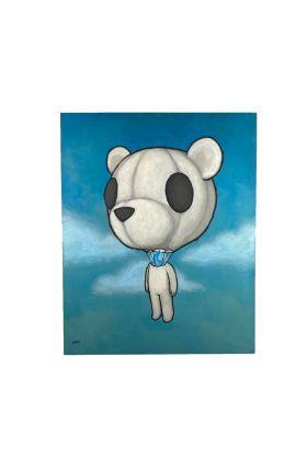 Luke Chueh - Balloon Head Print