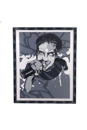 David Flores - MC Grey Print