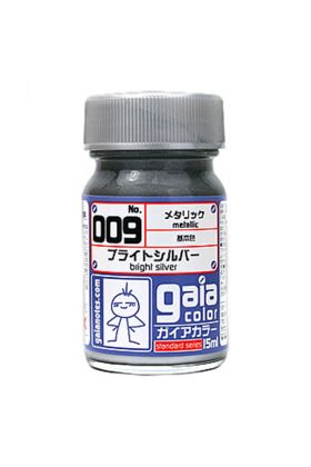 GAIA METALLIC COLOR 009 BRIGHT SILVER
