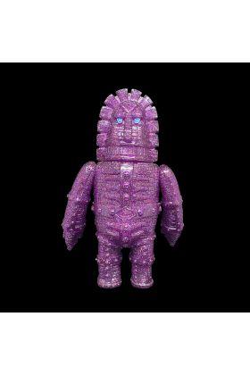 Giant Moai Robo Purple Glitter - Monstock