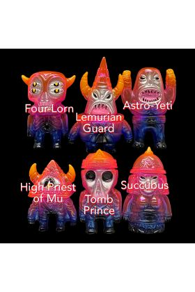 Hextraterrestrials Clear Pink Painted - Martin Ontiveros