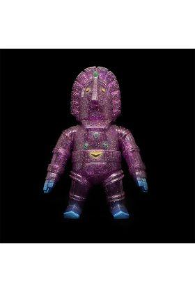 Moai Robo Purple Glitter - Monstock
