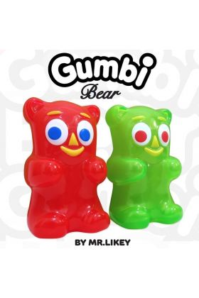 Gumbi Bear Green - Mr. Likey