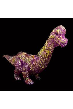 Brachiosore Clear Purple Painted - James Groman