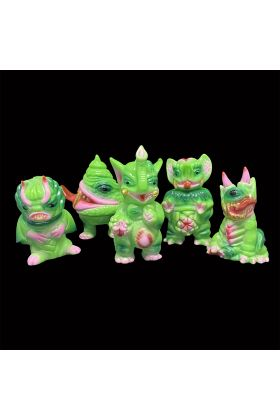 GACHAFEST PK Mini Green A - Paul Kaiju