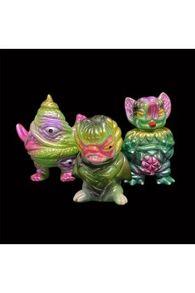 GACHAFEST PK Mini Green B - Paul Kaiju