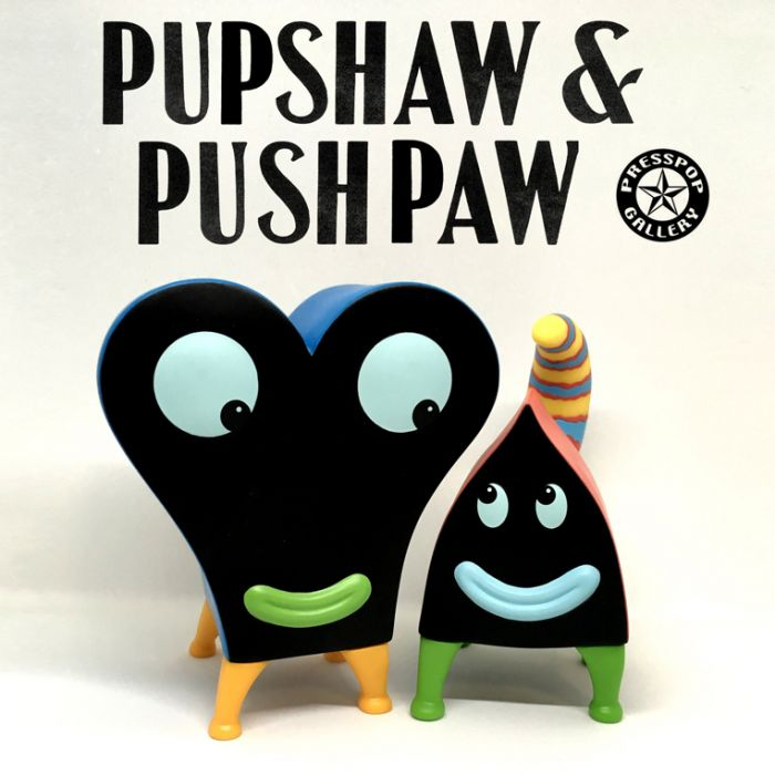 Pupshaw and Pushpaw Color Edition - Jim Woodring x Press Pop