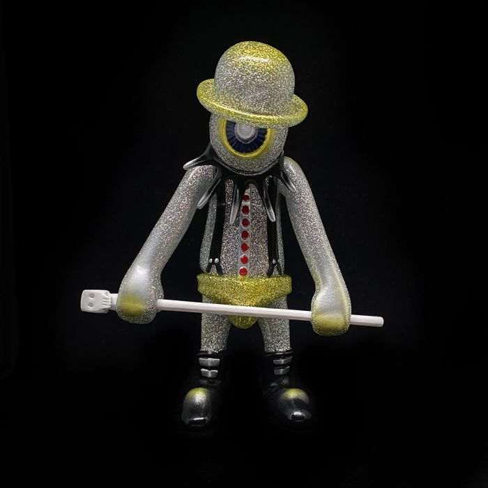 Nadsat Boy Silver Glitter Painted - Kenth Toy Works